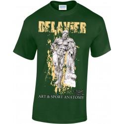 Delavier - Teeshirt homme - Hercule Farnèse - Forest