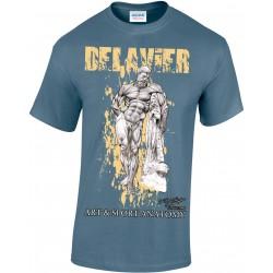 Delavier - Teeshirt homme - Hercule Farnèse - Indigo
