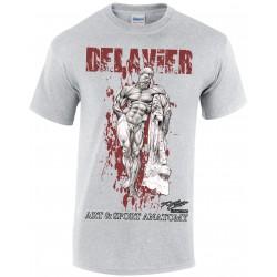 Delavier - Teeshirt homme - Hercule Farnèse - Sport Gray