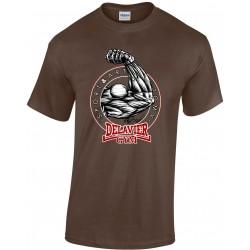 Delavier - Teeshirt homme - Bras - chocolat