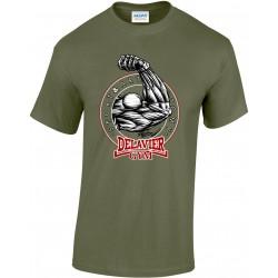 Delavier - Teeshirt homme - Bras - Military