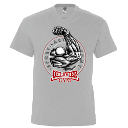 Tee-Shirt Homme col V -...