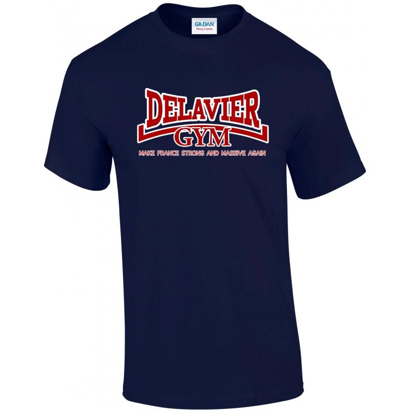 Delavier - Teeshirt homme - Make France - Navy