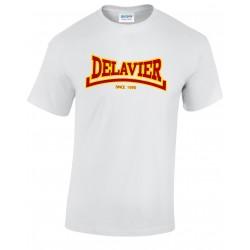 Teeshirt Delavier - Since 1990 - Blanc