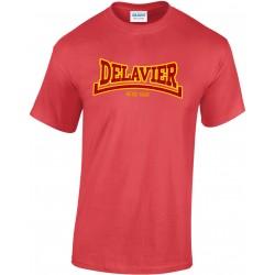 Teeshirt Delavier - Since 1990 - Rouge