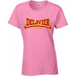 Delavier - Teeshirt femme - Since 1990 - Azalea